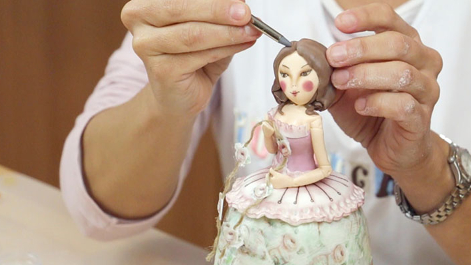 Curso Tarta Vintage Doll, con Georgia Suter
